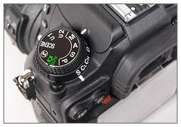 Nikon D7000 - Release Mode Dial