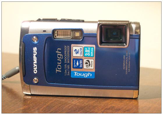 Olympus Tough TG-610 waterproof, shockproof digital camera