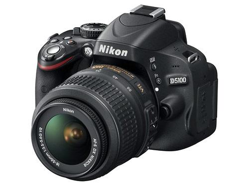 Nikon D5100 - 16-megapixel digital SLR with Vari-Angle LCD