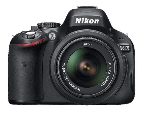 Nikon D5100 digital SLR - front