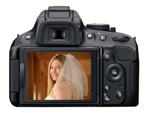 Nikon D5100 digital SLR - rear LCD display