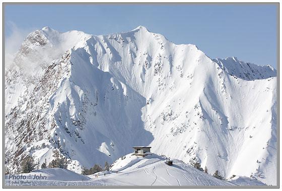 Mt. Superior from Alta Ski Resort - Sony Alpha SLT-A55
