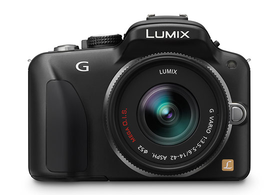 Panasonic Lumix G3 - front