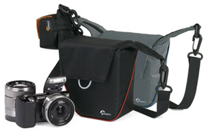 Lowerpro Compact Courier camera bags for compact system cameras