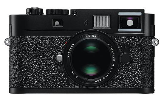 Leica M9-P rangefinder - black - front