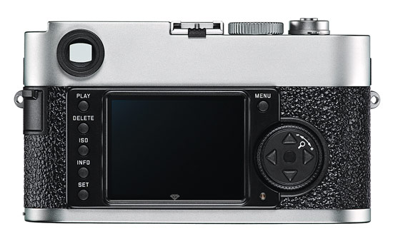 Leica M9-P - sapphire crystal rear LCD display