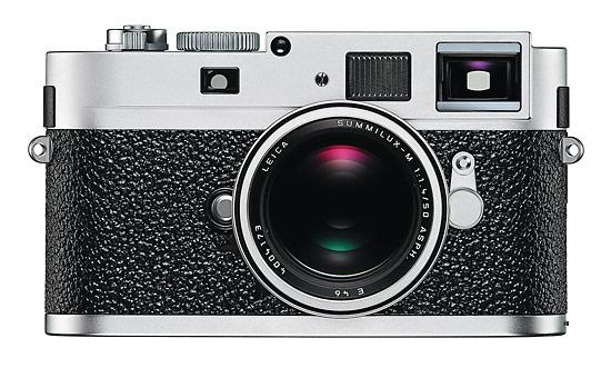 Leica M9-P rangefinder - front - silver