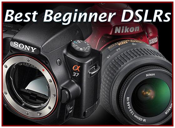 Top Five Beginner Digital SLRs