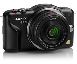 Panasonic Lumix GF3 Micro Four Thirds camera