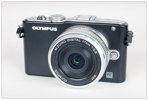 Olympus E-PL3 Pen Camera with M.Zuiko Digital 17mm f/2.8 lens
