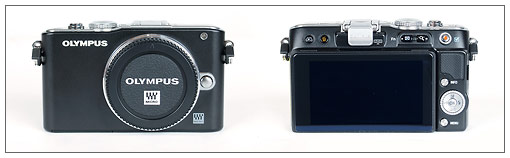 Olympus E-PL3 Pen Camera - Front And Back
