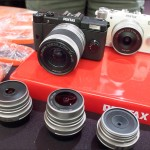 Pentax Q system camera and lenses