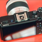 Pentax Q - top panel and controls