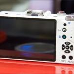 Pentax Q mini system camera - rear LCD display