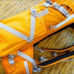 Lowepro Photo Sport 200 AW side-view w shoulder harness and bottle / accessory compartment