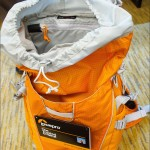 Lowepro Photo Sport 200 AW camera pack top/gear compartment