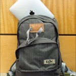 """The Clik """"Classic"""" packs have an iPad compartment as well as a camera compartment"""