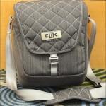 "Sneak peek: Clik ""Classic"" shoulder pack for digital SLR, iPad and water bottle (or second lens)"