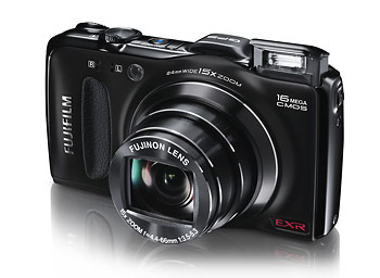 Fujifilm FinePix F600EXR pocket superzoom digital camera