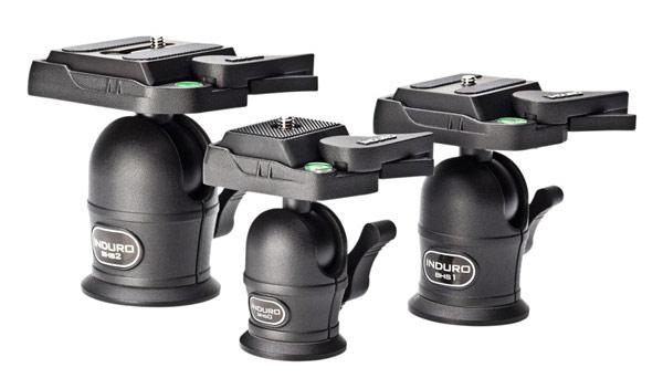 Induro's affordable new BHS-Series tripod ballheads