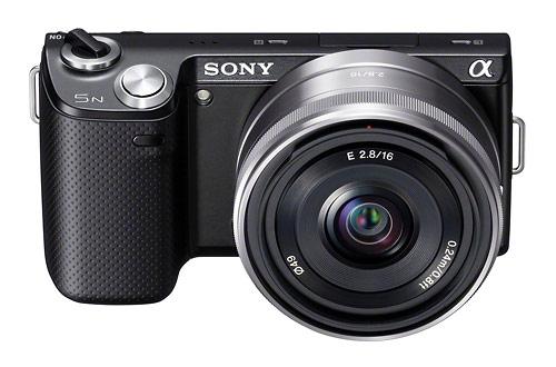 Sony Alpha NEX-5N -mirrorless camera - black