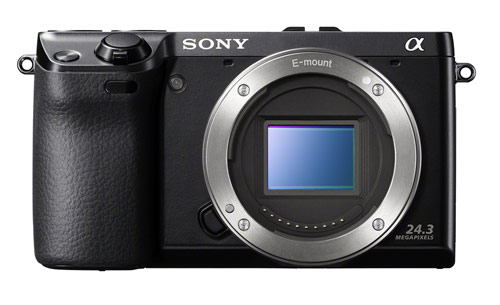 Sony Alpha NEX-7 mirrorless, interchangeable lens camera