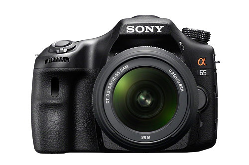 Sony Alpha SLT-A65 translucent mirror camera