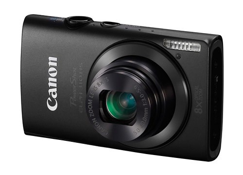Canon PowerShot ELPH 301 HS digital camera - black