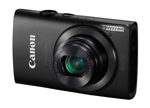 Canon PowerShot ELPH 301 HS digital camera - black