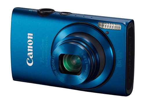 Canon PowerShot ELPH 310 HS digital camera - blue