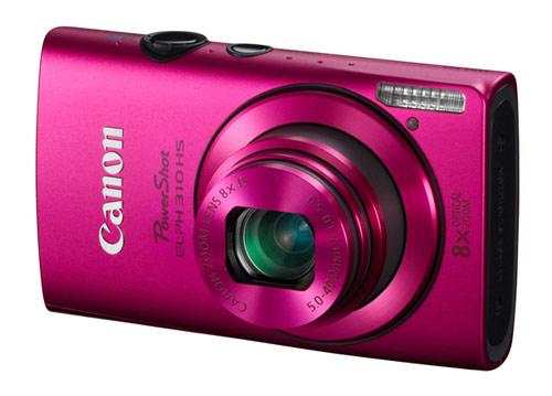 Canon PowerShot ELPH 310 HS digital camera - pink