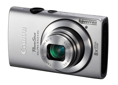 Canon PowerShot ELPH 310 HS digital camera - silver