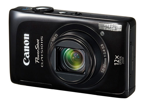 Canon PowerShot ELPH 510 HS pocket superzoom camera - black