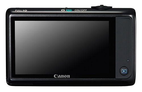 Canon PowerShot ELPH 510 HS - 3.2-inch touchscreen LCD display