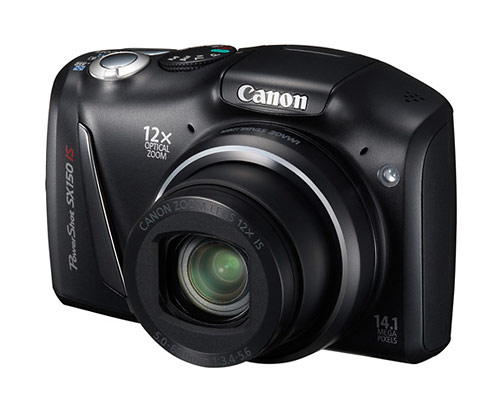 Canon PowerShot SX150 IS superzoom digital camera