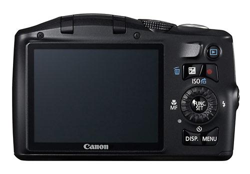 Canon PowerShot SX150 IS digital camera LCD display