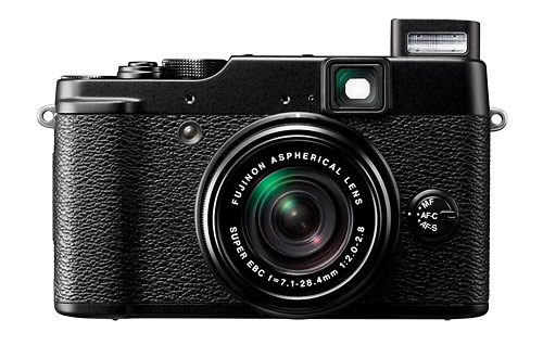 Fujifilm X10 camera with 4x f/2.0-2.8 Fujinon Super EBC zoom lens