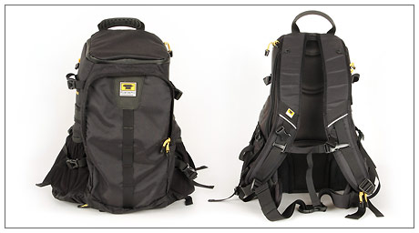 Mountainsmith Quantum Daypack camera pack - front and back