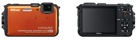 Nikon Coolpix AW100 rugged, waterproof digital camera
