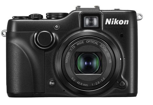 Nikon Coolpix P7100 camera - front