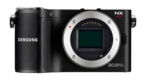 Samsung NX200 - 20.3-megapixel APS-C CMOS sensor