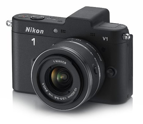 Nikon V1 compact, mirroless, interchangeable lens camera