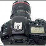 Canon EOS-1D X - top view, LCD and controls