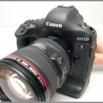 Canon EOS-1D X - front view from left
