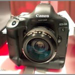 Canon EOS-1D X full frame digital SLR - NYC Canon intro event
