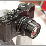 Fujifilm X10 camera with manual zoom ring