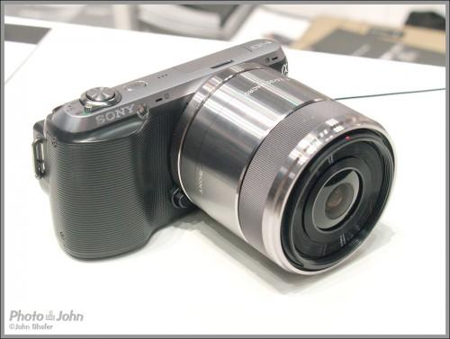 Sony NEX-C3 compact system camera