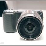 Sony Alpha NEX-C3 - front view