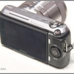 Sony Alpha NEX-C3 - rear view