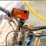 Nikon Coolpix AW100 On Mountain Bike
